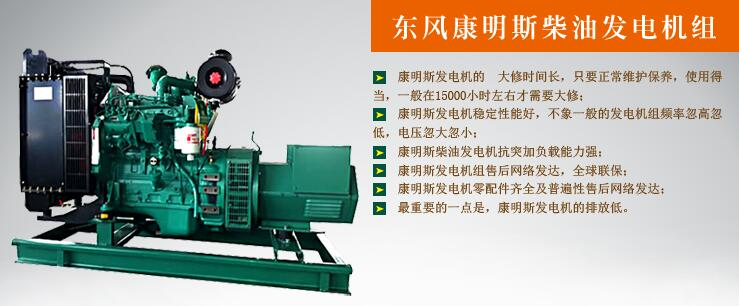 20kw东风康明斯柴油发电机组简述